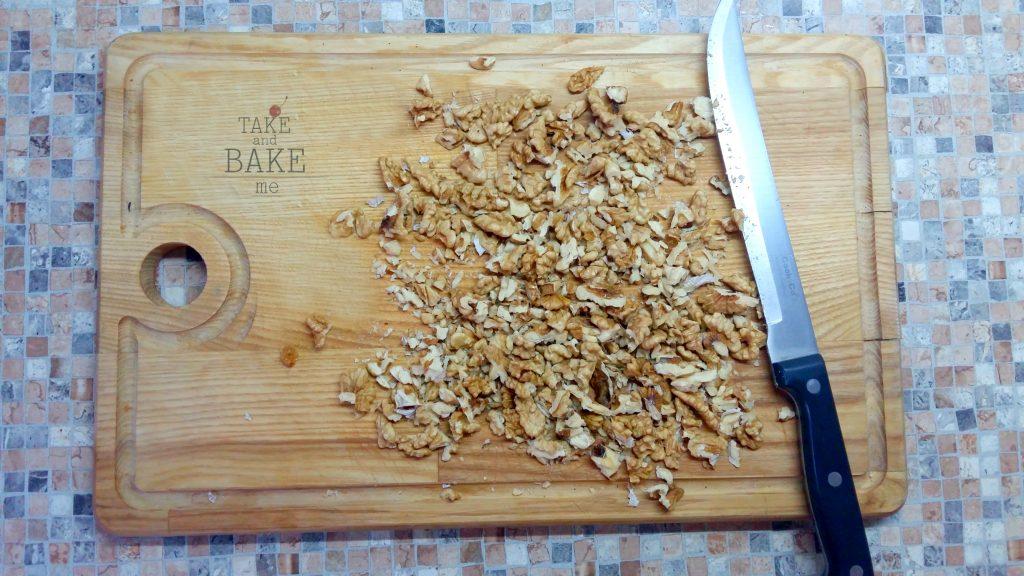 яблочный штрудель 9 орехи