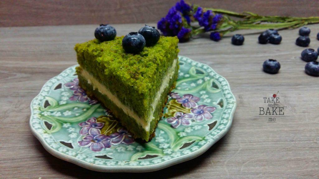 шпинатовый торт