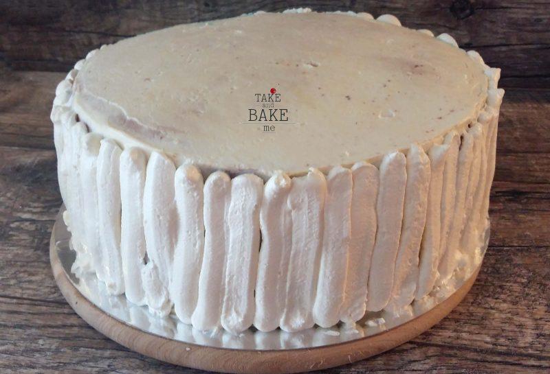 бисквитный торт с крем-чизом