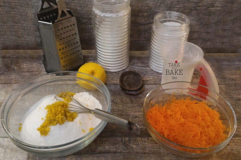 Морковно - ореховый торт